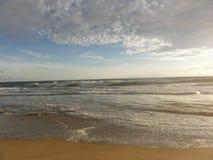 """Zonsondergang op een strand van Acapulco †""""Mexico royalty-vrije stock foto"""