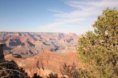 Zonsondergang op Grand Canyon Stock Afbeelding