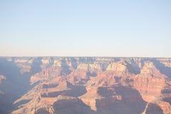 Zonsondergang op Grand Canyon Royalty-vrije Stock Foto