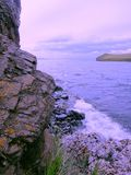 Zonsondergang op meer Baika royalty-vrije stock foto