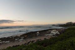 Zonsondergang op Oahu stock afbeeldingen