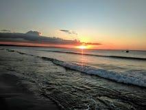 Zonsondergang op Puerto Rico royalty-vrije stock foto