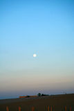 Zonsondergang over het strand Royalty-vrije Stock Fotografie