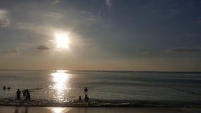 Zonsondergang Phu quoc stock afbeeldingen