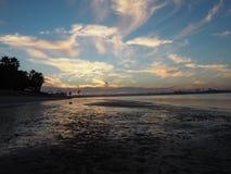 Zonsondergang in San Diego Royalty-vrije Stock Foto's