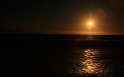 Zonsondergang in Westelijk Australië Stock Fotografie