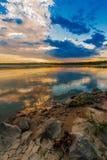 zonsondergang of zonsopgang royalty-vrije stock foto's