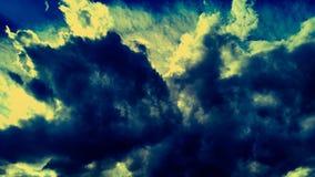 Zonsonderganghemel Royalty-vrije Stock Afbeelding