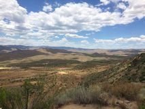 Zonsondergangpunt Arizona Stock Fotografie