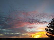 1 zonsopgang Royalty-vrije Stock Afbeeldingen