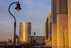 Zonsopgang in Belfast Royalty-vrije Stock Fotografie