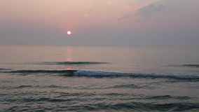 Zonsopgang bij de kust Stock Fotografie