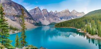Zonsopgang bij het meer van de Morene Royalty-vrije Stock Fotografie