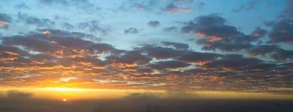 Zonsopgang boven de stad van Sydney Australia Royalty-vrije Stock Fotografie