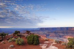 Zonsopgang in Canyonlands Royalty-vrije Stock Foto's