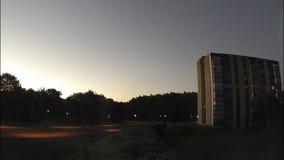 Zonsopgang en zonsondergang stock videobeelden