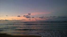 Zonsopgang in Hawaï Stock Afbeeldingen