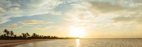 Zonsopgang in Key West Stock Afbeeldingen