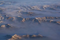 Zonsopgang in Mongoolse bergen Royalty-vrije Stock Foto's