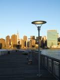 Zonsopgang NYC Royalty-vrije Stock Foto