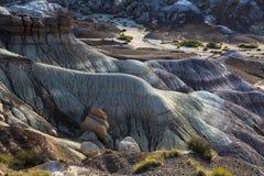 Zonsopgang op Chindi-Punt in Geschilderd Woestijn Nationaal Park dichtbij HOL Royalty-vrije Stock Foto's