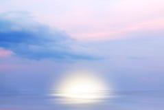 Zonsopgang op de oceaan Stock Fotografie
