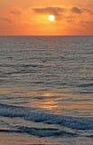 Zonsopgang op de oceaan Royalty-vrije Stock Fotografie