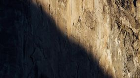 Zonsopgang op Granietmuren in Yosemite stock videobeelden