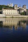 Zonsopgang op Kathedraal heilige-Jean Stock Afbeeldingen