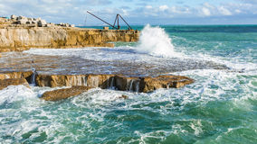 Zonsopgang over de Noordzee Stock Afbeeldingen