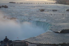 Zonsopgang over Niagara Stock Afbeelding
