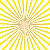 Zonstralen De stralenachtergrond van de zon Vector illustratie royalty-vrije illustratie