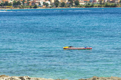 Zonstrand in Adriatic Stock Fotografie