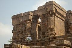 Zontempel, Konarak, India Royalty-vrije Stock Fotografie