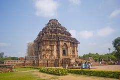 Zontempel, Konarak, India stock fotografie