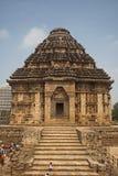 Zontempel, Konarak, India Royalty-vrije Stock Afbeelding