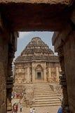Zontempel, Konarak, India Royalty-vrije Stock Foto's