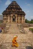 Zontempel, Konarak, India Royalty-vrije Stock Afbeeldingen