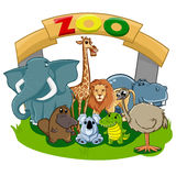 zoo Royaltyfri Bild