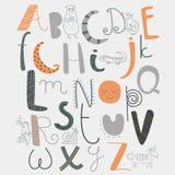 Zoo alphabet Stock Photo