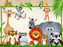 Zoo animals Royalty Free Stock Photo