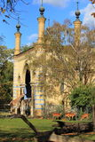 Zoo Berlin. The historic antelope and giraffe house in Zoo Berlin, Germany Stock Photography