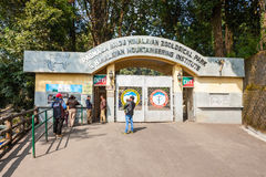 Zoo in Darjeeling. DARJEELING, INDIA - NOVEMBER 18, 2015: Padmaja Naidu Himalayan Zoological Park in Darjeeling, India Royalty Free Stock Photography