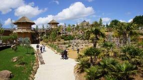 Zoo de Beauval νέα περιοχή στη Γαλλία στοκ εικόνες