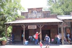 Zoo de Fort Worth d'écurie de livrée, Fort Worth, le Texas image libre de droits