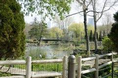 Zoo de stationnement de Lincoln images libres de droits