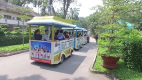 Zoo di Saigon e giardini botanici video d archivio