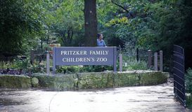 Zoo du ` s d'enfants de famille de Pritzker chez Lincoln Park Zoo Chicago, l'Illinois photo stock