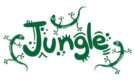 Zoo jumgle Stock Image