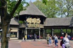 Zoo, Lotte World, Südkorea Stockfotos